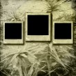 Paper frames  on the grunge paper background — Lizenzfreies Foto