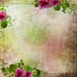 Stock Photo: Background for congratulation card in pink and green