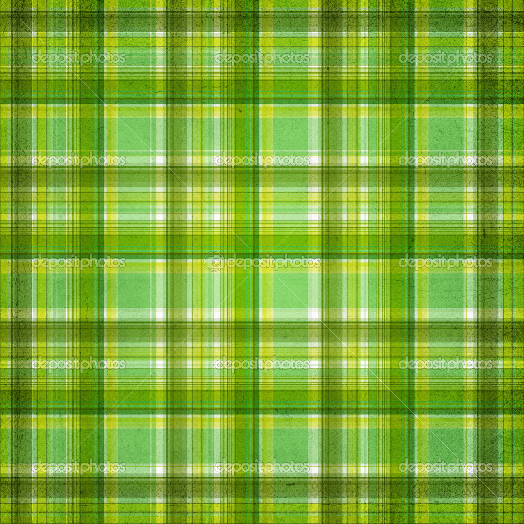 Plaid Background Green Plaid Background With Colorful