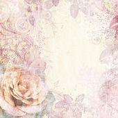 Vintage floral background — Stock Photo