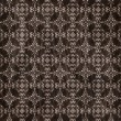 Brown damask seamless texture — Stock Photo