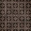 Stock Photo: Brown damask seamless texture