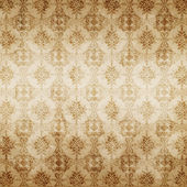 Brown damask seamless texture, abstract pattern — Stock Photo