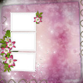 Wedding Day Card — Stock Photo