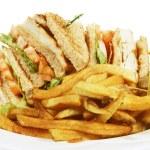 Club sandwich — Stock Photo #5392646