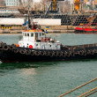 Tug boat in the port — Stock Photo #5542602