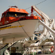 Lifeboat on ship — Stock Photo #5575137