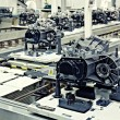 Stock fotografie: Manufacturing parts for transmission