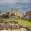 Stock Photo: Mayruins in Tulum, Mexico
