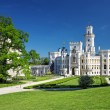 Bohemian castle Hluboka nad Vltavou — Stock Photo #5655569