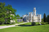 ボヘミア城 hluboka nad vltavou — ストック写真