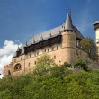 Panoramic view of castle Karlstejn, Czech Republic — Stock Photo
