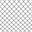 Vector of wired fence - Stock Vector