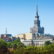 Warsaw, Palace of Culture and Science — Stock Photo