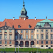 Royal Castle in Warsaw closeup — Stock Photo #5664476