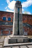 Citadel in Warsaw - gallows remains — Photo