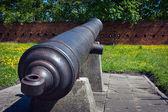 Artillery of Citadel in Warsaw — Stock Photo