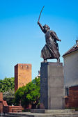 Jan Kilinski statue (1794 uprising commander) — Stock Photo