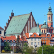 Stock Photo: Warsaw's Old Town Buildings