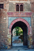 The Gate of Wine in Alhambra — Stock Photo