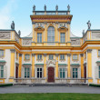 Wilanow Palace in Warsaw — Stock Photo