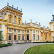 Wilanow Palace in Warsaw — Stock Photo #5750185