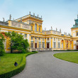 Wilanow - Royal Palace in Warsaw — Stock Photo #5750215