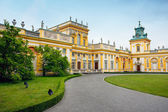 Wilanow - Royal Palace in Warsaw — Stock Photo