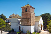 Village of Mijas - Church of the Immaculate Conception — Stock Photo