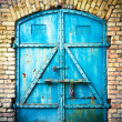 Stock Photo: Iron gate