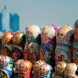 Russian national souvenir - matryoshka — Stock Photo #5937023
