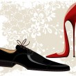 Fashion shoes - Imagen vectorial