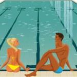 Swimming pool — Stock Vector #5895476
