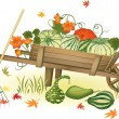 Stock Vector: harvest