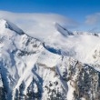Stock Photo: Winter mountains panorama. Bulgaria, Bansko