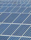 太阳能光伏板 — 图库照片