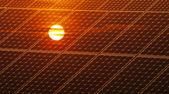 太陽光発電エネルギー — ストック写真