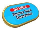 30 days money back — Stock Photo