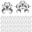 Royalty-Free Stock Vector Image: Decorative elements and backgrounds for design