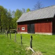Swedish barn for cattle — Stock Photo #5735086