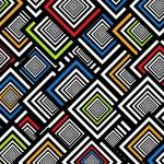 Squares background — Stock Photo