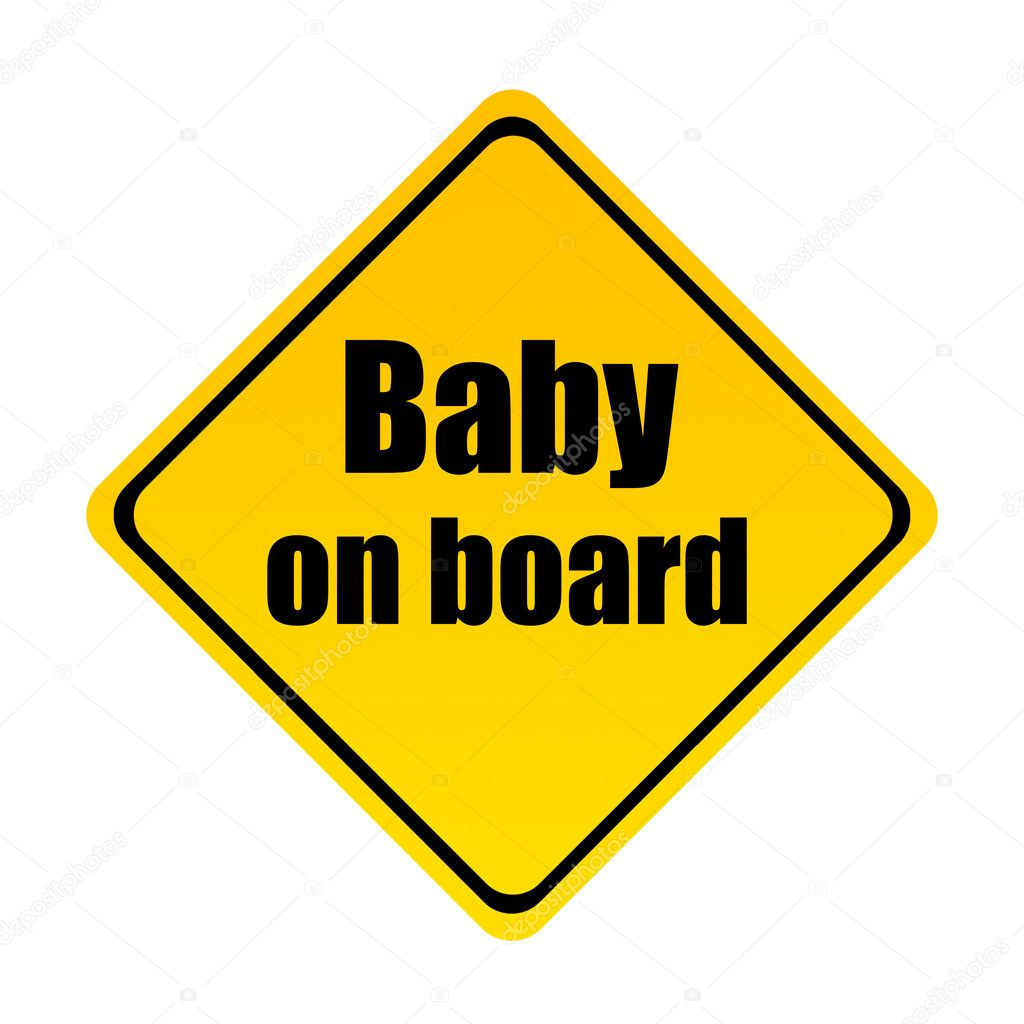 clipart baby on board-#16