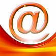 Email background - Foto Stock