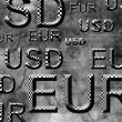 Stock Photo: Eur usd