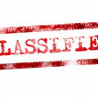Stock Photo: Classified