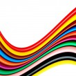 Stock Photo: Colors waves