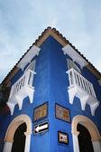 老蓝大厦 — 图库照片