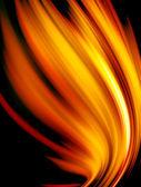 Conceptual fire — Stock Photo