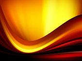 Fire illustration wave — Stock Photo