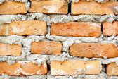 Tegel och grävmaskin — Stockfoto